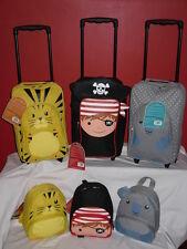 SUPER leggero Bambini Da Viaggio Una Notte Weekend Trolley Zaino Set.
