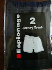 ESPIONAGE TWIN PACK JERSEY TRUNKS/BOXER SHORTS 2XL 3XL 4XL 5XL 6XL 7XL 8XL