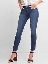 NEW GAP Super Slimming True Skinny Denim Blue Jean Pants Stretch 26 27 28 $99