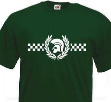 T-shirt Casque Trojan Ska Rocksteady Rude Boy Jamaica Skin 69 Reggae Vintage 60'