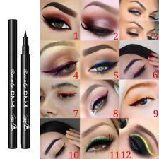 12 Colors Waterproof Liquid Matte Eyeliner Pencil Stick Eyeliner Makeup Cosmetic
