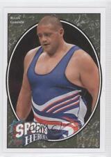 2008 Upper Deck Football Heroes Green #258 Rulon Gardner Rookie Card