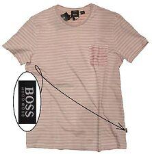 NWT Hugo Boss Black Label By Hugo Boss Slim Fit Mercerised Breast Pocket T-Shirt