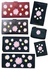 Porte Chequier ou compagnon ou porte monnaie  porte carte grise Marguerite rose