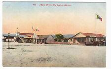 Main Street Tijuana Mexico 1910c #3 postcard