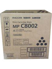 Ricoh Savin Lanier 842083 Black High Yield Toner Cartridge Genuine OEM