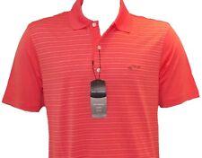 Regali per i golfisti-Arancione Greg Norman Polo Shirt-Padri Giorno Regalo