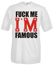 T-Shirt girocollo manica corta Fun FR04 Fuck me! I'm famous