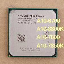 AMD A10-Series A10-7850K A10-7800 A10-6800K A10-6700 Socket FM2 CPU Processor