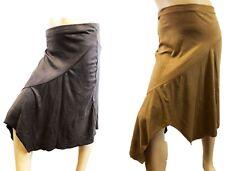 Girls Teenage Suede Look Long Fashion Skirts 5/6 7/8 9/10 11/12 13 years