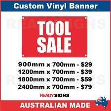 TOOL SALE - CUSTOM VINYL BANNER SIGN - Australian Made