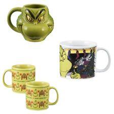 The Grinch Coffee Mug (Choose Your Design) Movie Christmas Green Ceramic