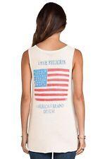True Religion women's Stars Tank Shirt Whisper off-white  WXQA137FS4