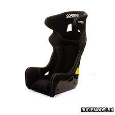 Corbeau Revenge Black Bucket Motorsport Seat FIA Track Day Kevlar GRP