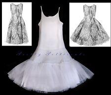 GIRL'S NET KIDS Petticoat  Christening Communion Underskirt flower girl dress