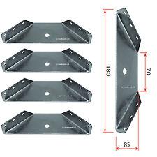 Set of Heavy Duty Furniture Table Corner Connecting Leg Brackets / Braces (TEL)