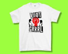 Riot Grrrl V1 T-Shirt Tee, T Shirt Adult S M L XL, Kathleen Hanna , Bikini Kill