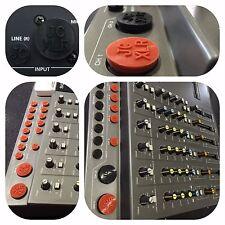 """SONY MDM-X4 MiniDisk multitrack recorder """"JACKCAP"""" Insert Set, 18x XLR and Jack"""