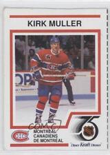 1991-92 Kraft Dinner #12 Kirk Muller Montreal Canadiens Hockey Card