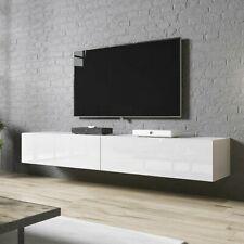 TV-Lowboard Hurricane 200cm Fernsehschrank Hängeschrank TV-Schrank Hochglanz