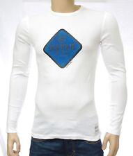 G STAR RAW homme Tee shirt  manches longues slim fit blanc MILFORD White