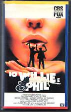 Io, Willie e Phil (1980) VHS 1a Ed. FOX  Paul Mazursky