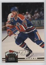 1992-93 Topps Stadium Club #314 Martin Gelinas Edmonton Oilers Hockey Card
