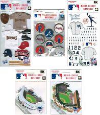 MLB Scrapbook Stickers BULK PURCHASE 5-10 cents Jolees EK Success LICENSED