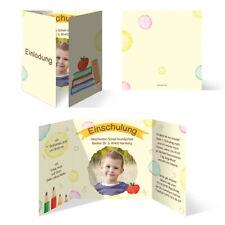 Einschulung Einladungskarten Einschulungskarten Schulanfang Set - Schulreif