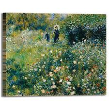 Renoir donna con ombrello design quadro stampa tela dipinto telaio arredo casa
