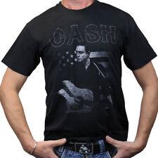 Johnny Cash T-Shirt - Guitar American
