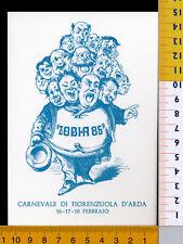 24589] PIACENZA  FIORENZUOLA D'ARDA  CARNEVALE 1985