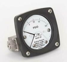 Differential Pressure Gauge, Midwest Instrument, 120-AA-00-OO-20P