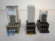 Lot of Misc. Relays - Omron H3Y; Kuhnke UF3F-24VDC1; RU 2532YA - 1 Lot of 5!