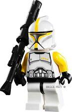 LEGO STAR WARS CLONE TROOPER COMMANDER FIGURE + GIFT - RARE - 75019 - 2013 - NEW