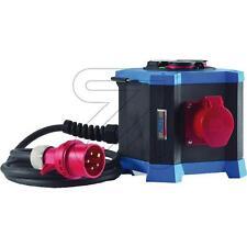 Stromverteilerbox ,Steckdosenverteiler 3xSchuko + 2xCEE 049500, Baustrom,Stecker