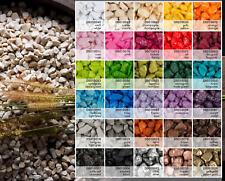 1 kg Dekosteine 5-8 mm 26 Farben Streudeko Tischdeko Farbsteine Granulat