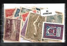 ARMENIA - ARMENIA colecciones de 10 à 50 sellos diferentes