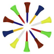70mm/56mm 2 3/4 2 1/8in Plastic Golf Tees Unbreakable Golf Tee Divot Tool