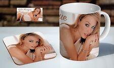 Kylie Minogue Pop Icon Tea / Coffee Mug Coaster Gift Set