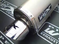 Suzuki GSXF 650 GSX 650 F Oval Titanium Exhaust SL