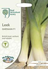 RHS LEEK Oarsman F1 Seeds