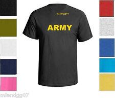ARMY Military T-Shirt Physical Training Shirt SZ S-5XL