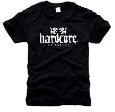 Hardcore Fanatics-UOMO-T-SHIRT, tg S fino XXL