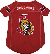 Ottawa Senators NHL Pet dog jersey shirt (all sizes) NEW