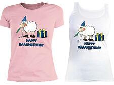 Geburtstag Damen T-Shirt - Sprüche / Motive Damenshirt Happy Birthday Top Shirt