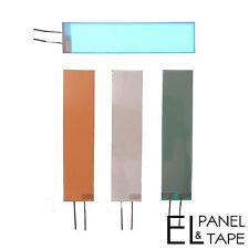 18mm X 74mm Reemplazo Luz de fondo el panel-Brillo Lámina Para muchos sintetizadores £ 7.00