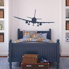 Passagiersvliegtuig Muursticker vliegtuigen Muurtattoo Jongens Slaapkamer Huis