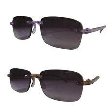 Occhiali da Sole Senza Montatura Leggero le lenti bifocali con lenti asferiche UV400 protetta