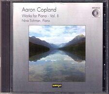 Copland piano Fantasy Night thoughts Nina tichman CD passacaglia procamation
